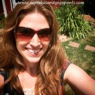 Sometimes you have to head outside and soak in the sun for a few minutes to get recharged! www.cupcakesandyogapants.com