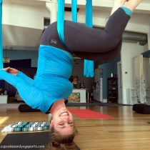 Learning to Fly With Aerial Yoga