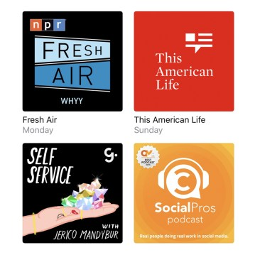 11 Podcasts Related to Wellness, News, Entrepreneurship & Storytelling