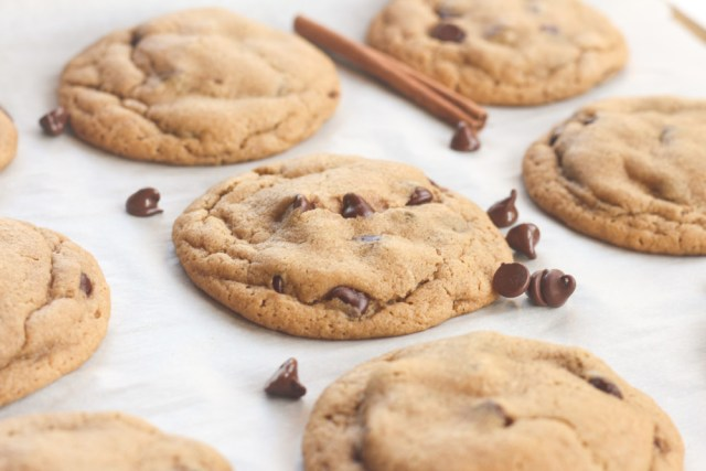 Fireball Whisky Brown Butter Chocolate Chip Cookies
