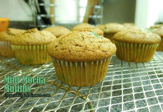 (Mint) Mocha Muffins