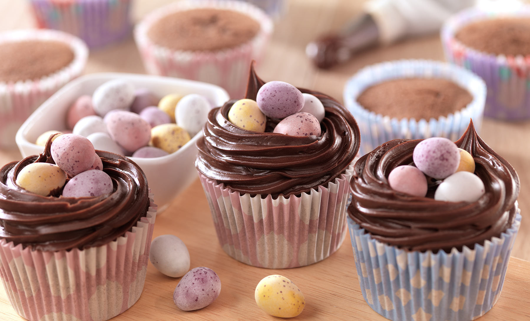 30 Admirable Easter Cupcakes