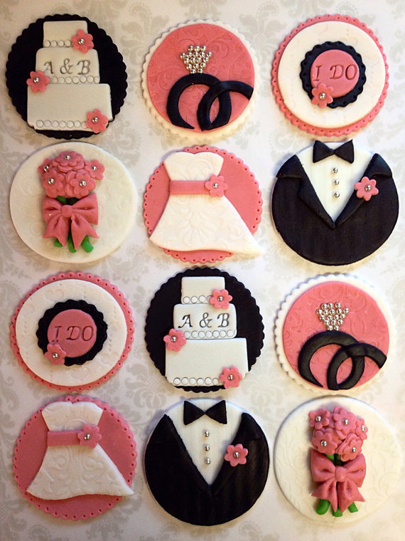 15 Creative Wedding Cupcake Toppers
