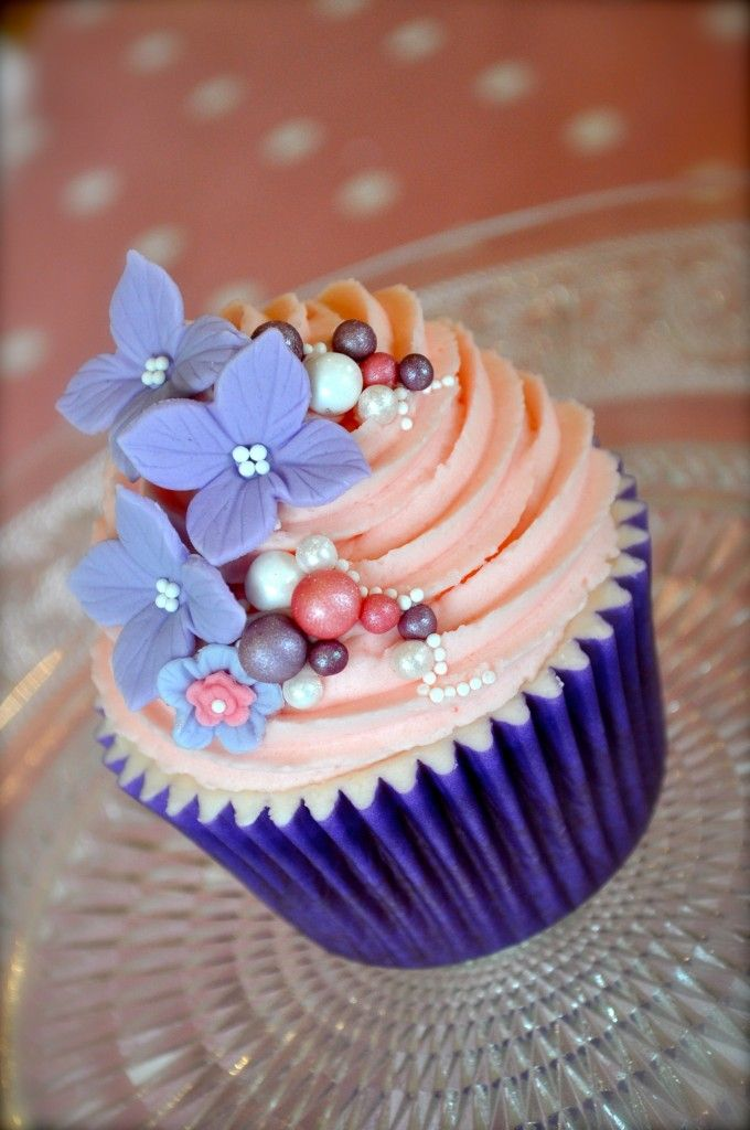 34 Pretty Purple Cupcakes Cupcakes Gallery