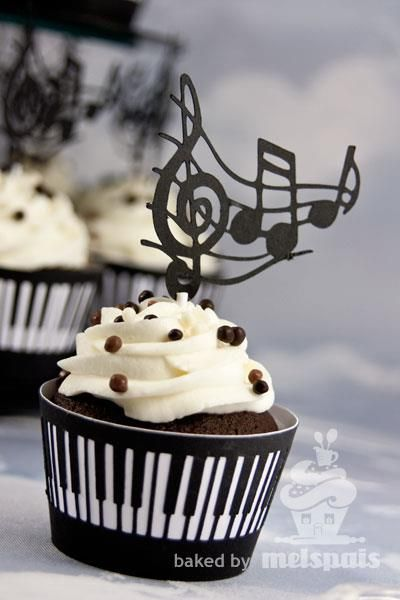 32 Decadent Cupcakes For Musicians  Cupcakes Gallery