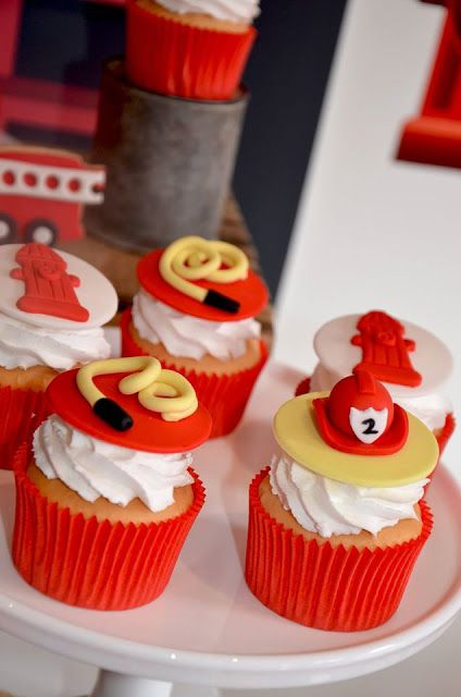 30 Appetizing Firefighter Cupcakes Cupcakes Gallery