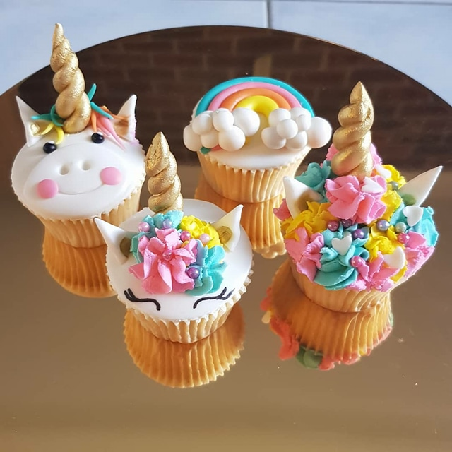 Fancy Unicorn Themed Cupcakes  Cupcakes Gallery
