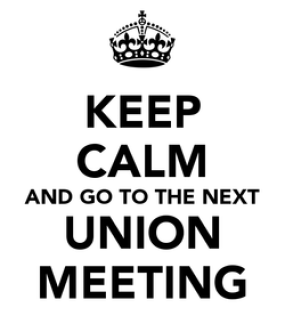 Image result for Union Meeting
