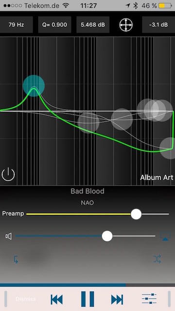 Equalizer von Audioforge - Screenshot