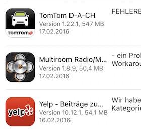 Updates App Store (3)