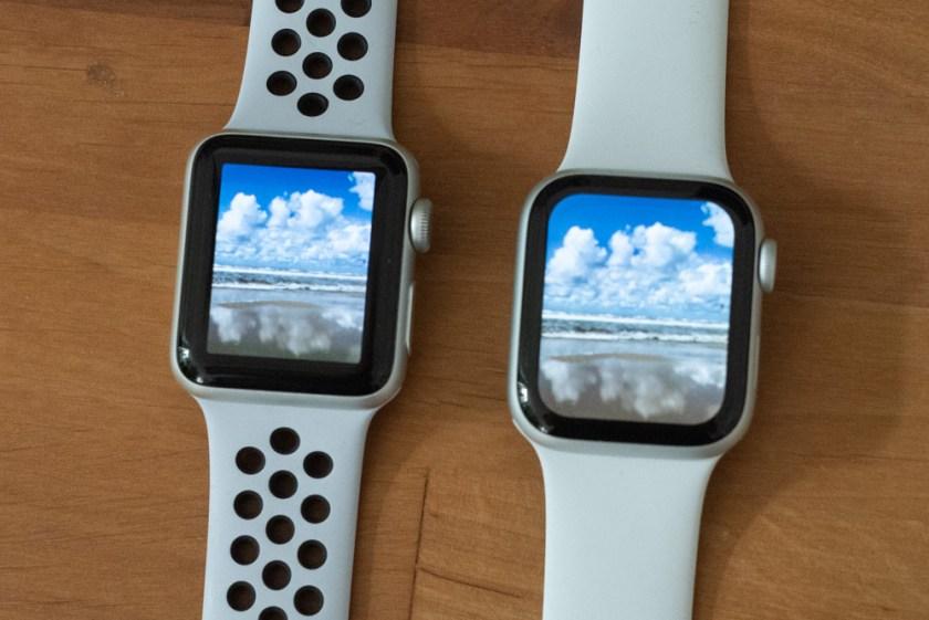 Apple Watch– Vergleich Display Series 3 und 4