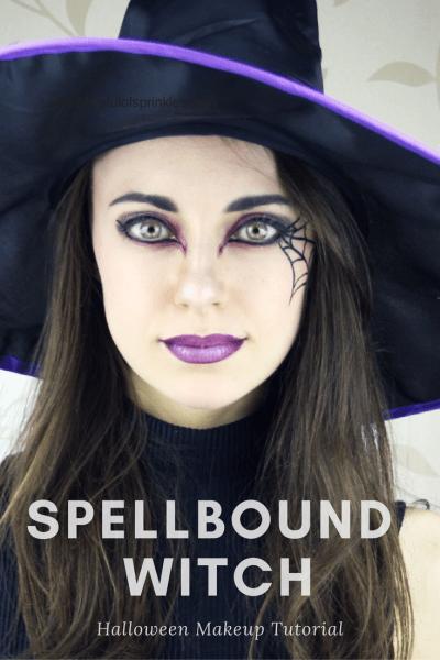Spellbound Witch Halloween Makeup