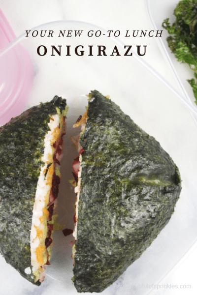 Onigirazu... Sushi Sandwiches!