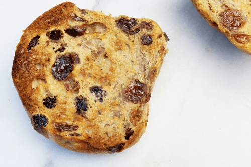 M&S Hot Cross Bun Review - Cupful of Sprinkles