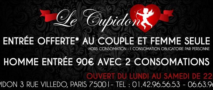 le Cupidon est le club libertin à connaitre sur paris