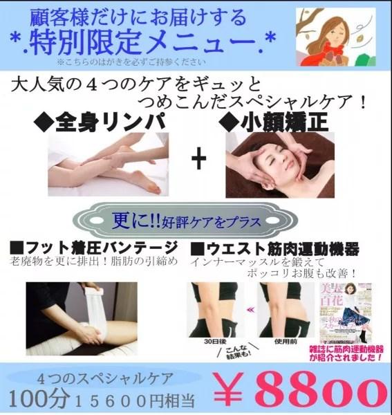 限定メニュー2015