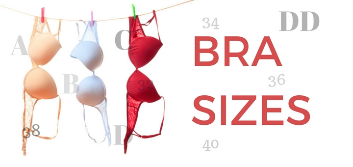 Different sized breast cups
