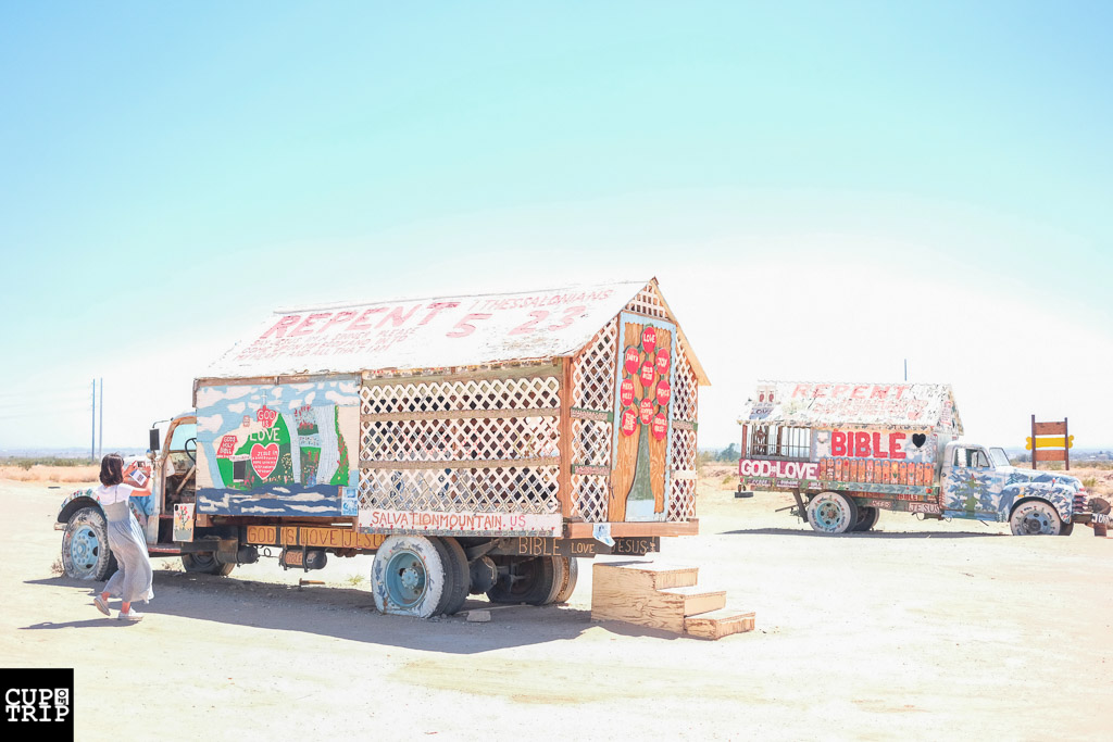 Slab City Salvation Mountain