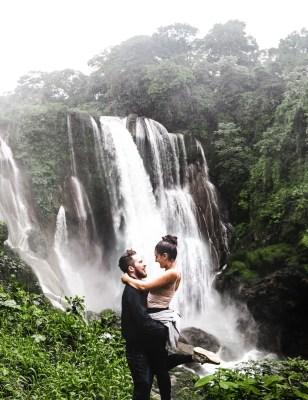 honduras waterfall