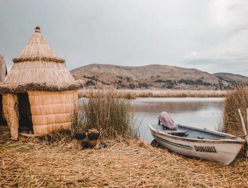 puno peru los uros islas flotantes lake titicaca