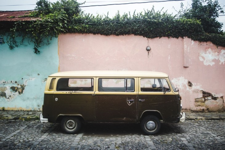 what I pack for travel photography vw camper van antigua | best lens for travel photography