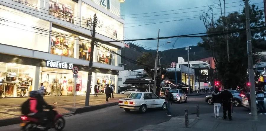 zona t rosa one of the best bogota neighbourhoods