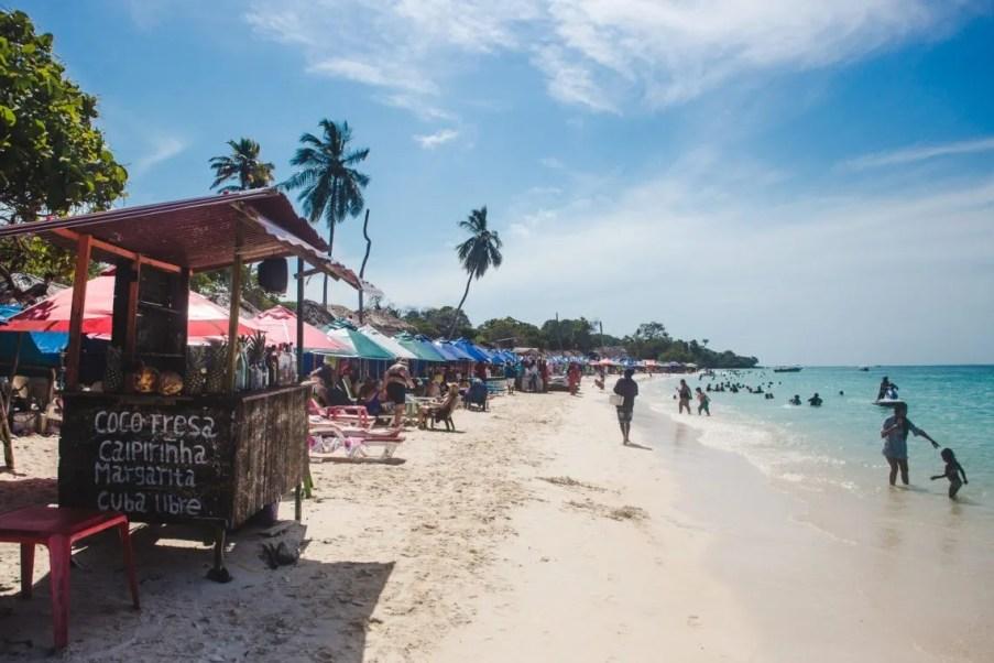 Isla Baru Playa Grande boat trip   Los Rosarios Islands   Cartagena Day Trips   Colombia travel guides by Cuppa to Copa Travels