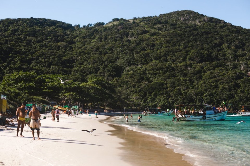 Praia do Forno Arraial do Cabo beaches Brazil | Cuppa to Copa Travels South America Guides