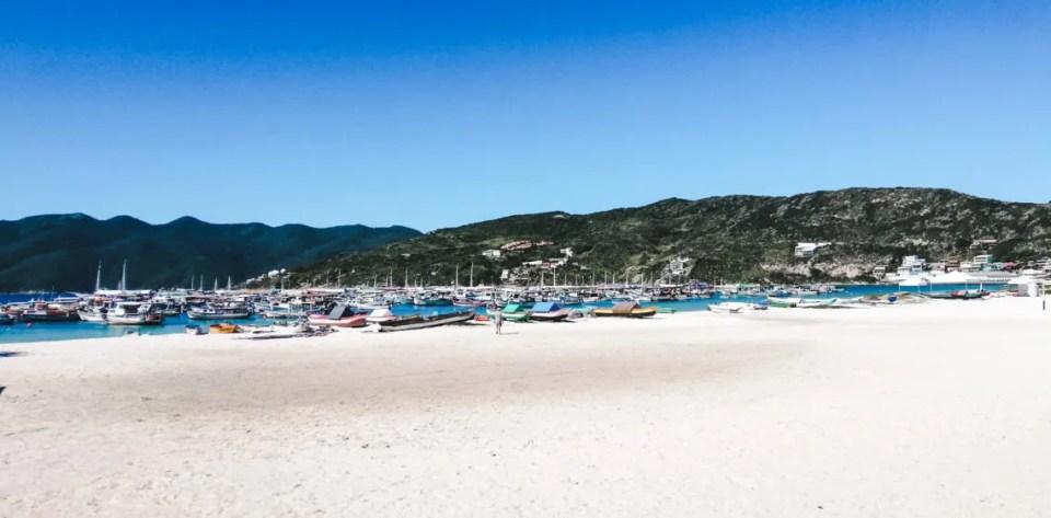 Port dos anjos for passeio barco Arraial do Cabo beaches brazil
