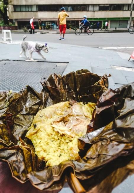 south american street food tamales