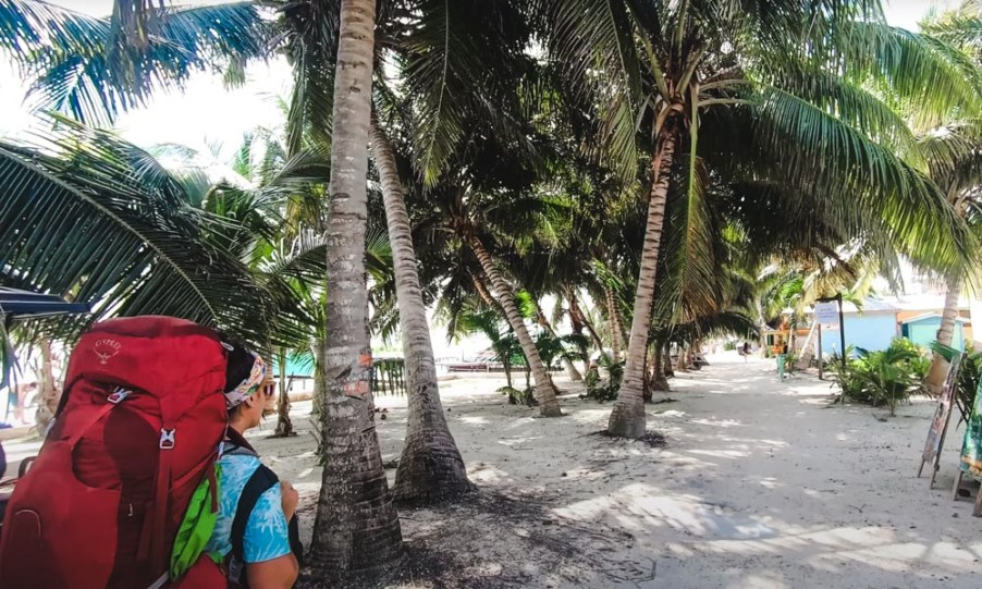 things to do on caye caulker belize backpack osprey aura 50l review
