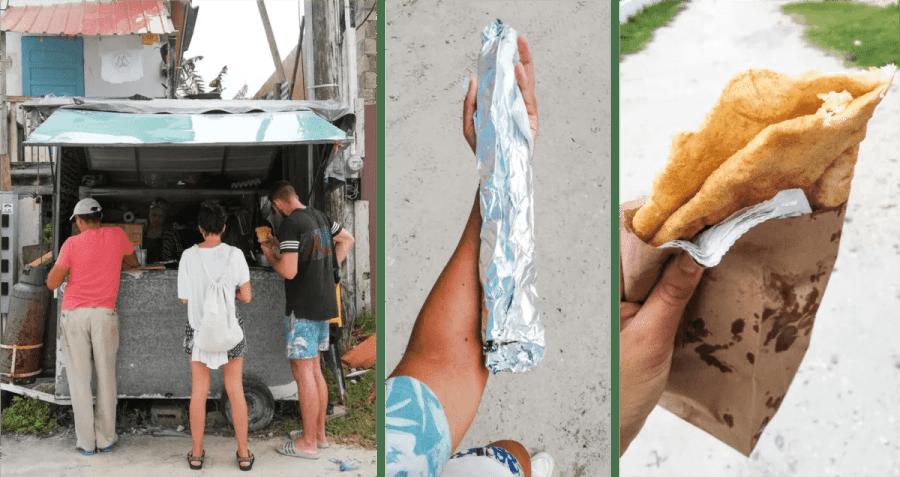 fryjack burrito things to do on caye caulker belize