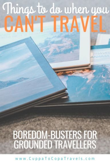 Photobooks Things to do when you can't travel during COVID-19