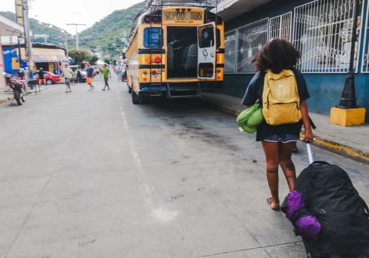 san juan del sur granada to ometepe ferry bus rivas