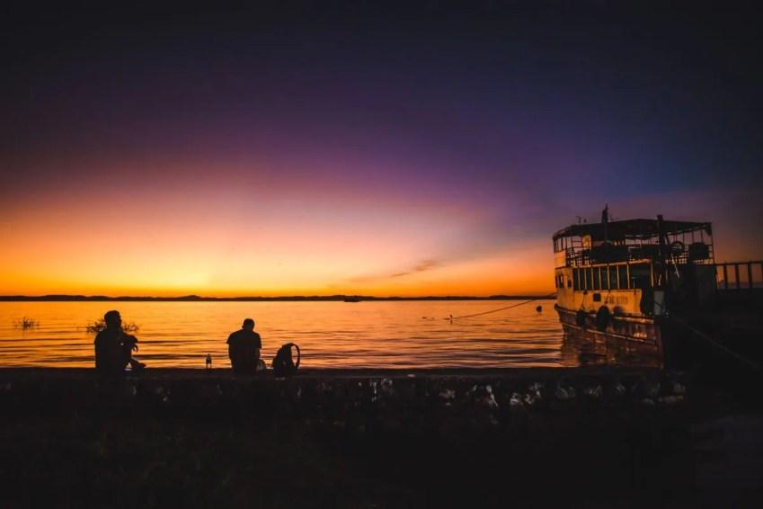 Things to do on Ometepe Island | Nicaragua travel moyogalpa port sunset