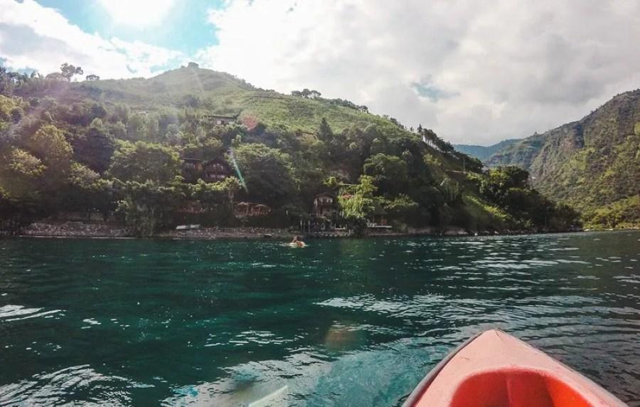 things to do in Guatemala lake atitlan maya moon backpacking in Guatemala