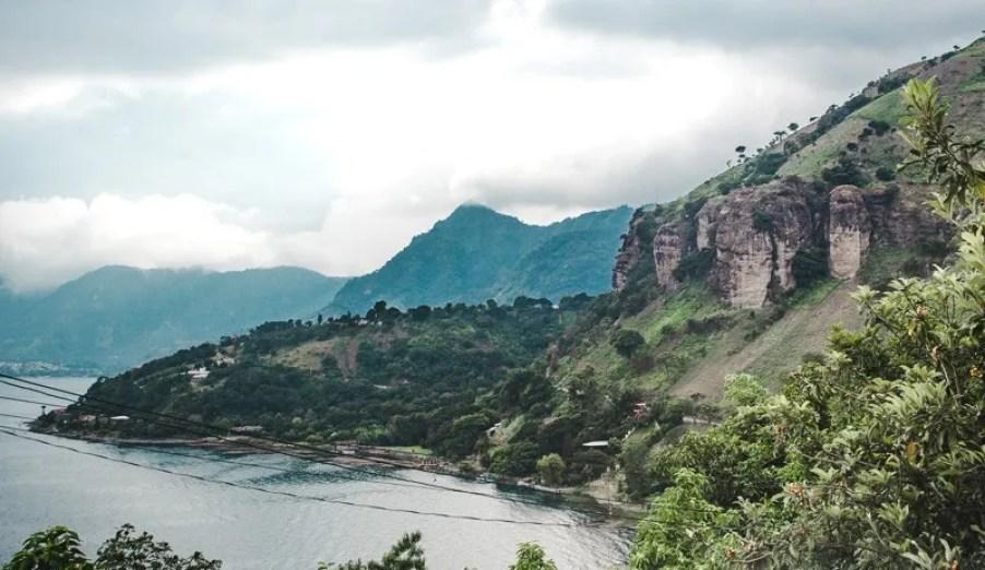 things to do in Guatemala lake atitlan indian nose hike backpacking in Guatemala