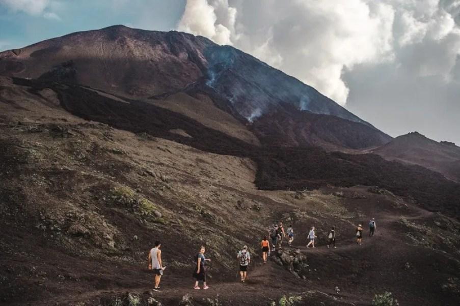 things to do in Guatemala volcano pacaya backpacking in Guatemala