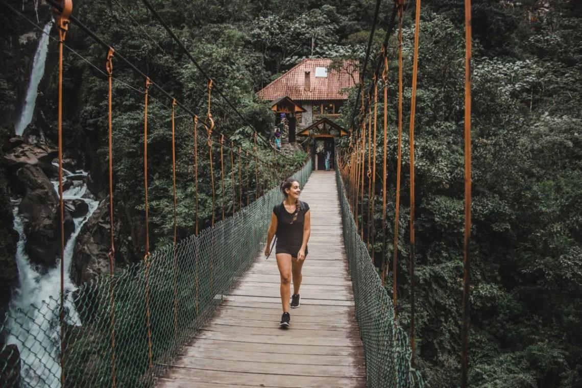 ruta cascadas waterfall baños ecuador backpacking bucketlist las penas best places to visit in ecuador