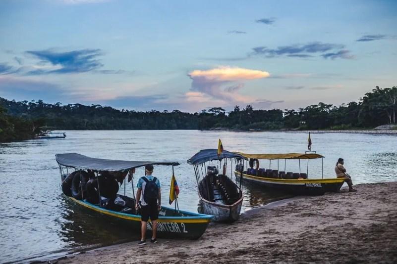 puerto misahualli rio napo tena ecuador backpacking amazon