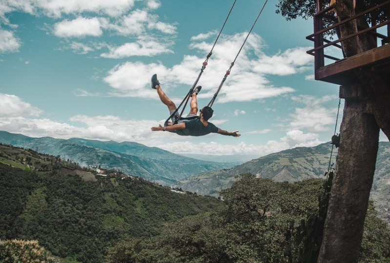 baños swing ecuador backpacking bucketlist las penas best places to visit in ecuador
