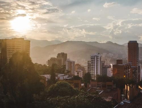 2 weeks in Colombia itinerary: el poblado medellin
