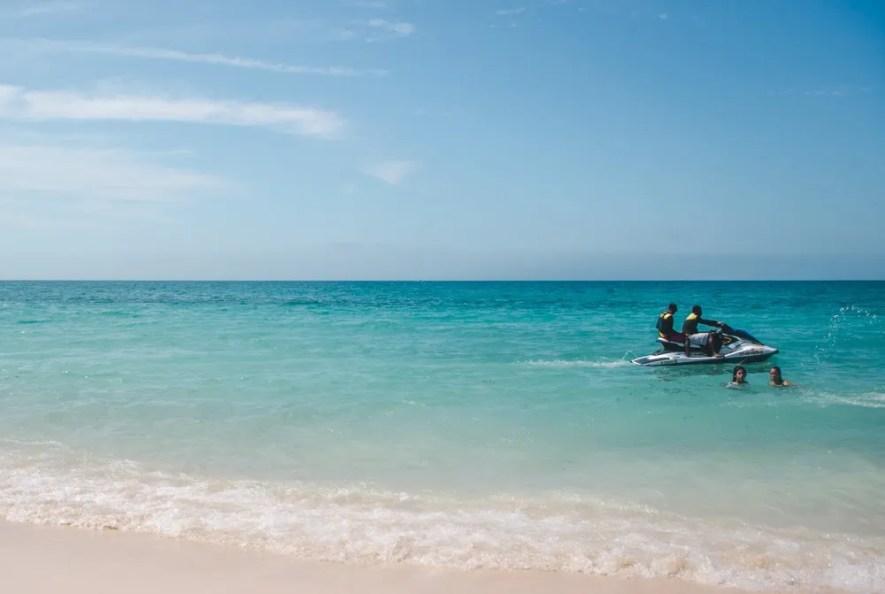 jetski: things to do on Playa Grande Isla Baru Cartagena Day Trips   Islands in Colombia travel