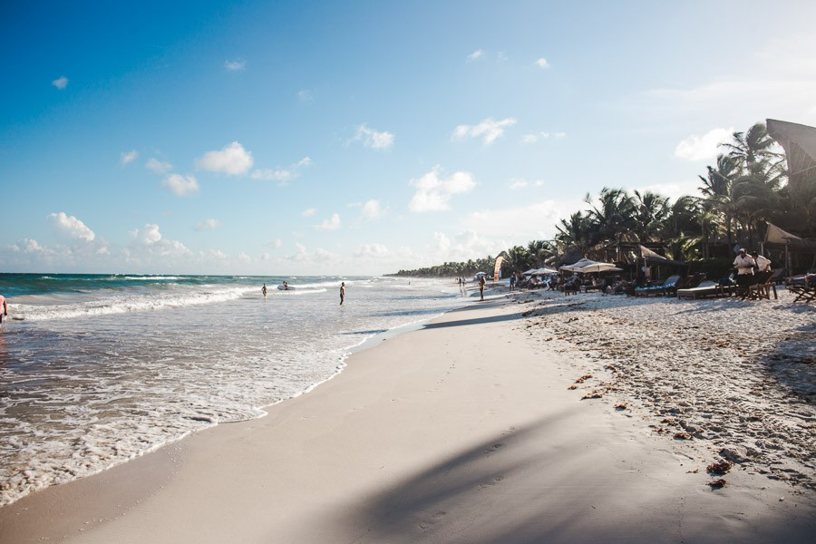 Tulum beach: 2 week mexico itinerary: how to spend 2 weeks in Mexico Yucatan Peninsula