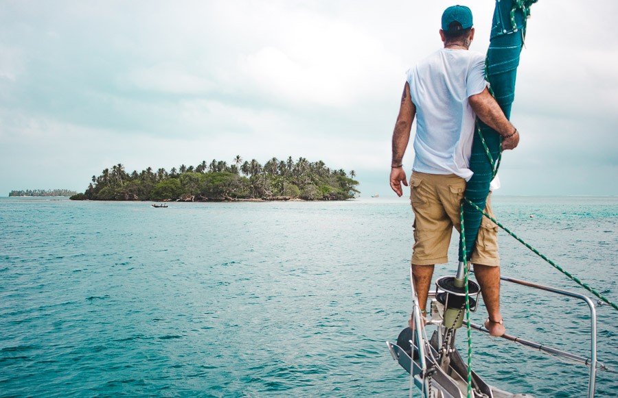 2 weeks backpacking in panama itinerary: san blas island