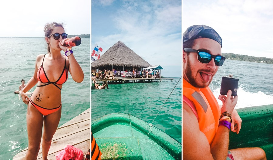 2 weeks backpacking in panama itinerary: bocas del toro