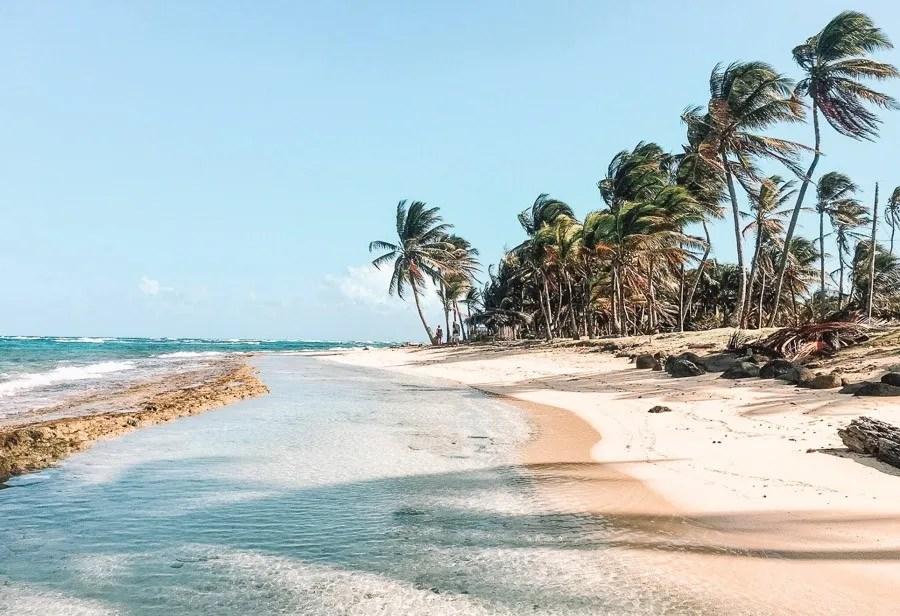 best central american beaches: corn islands nicaragua