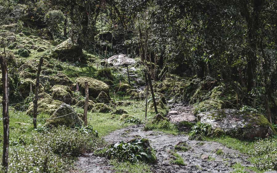 hiking colombia's tallest waterfall la chorrera bogota choachi