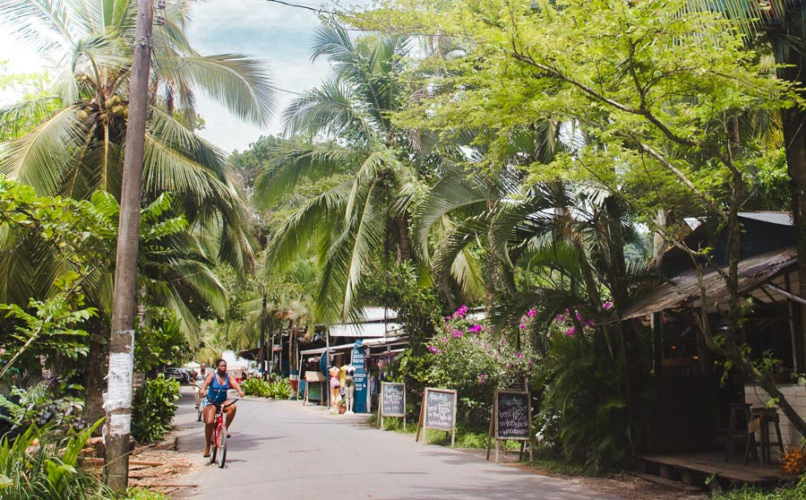puerto viejo town: 2 weeks in costa rica itinerary