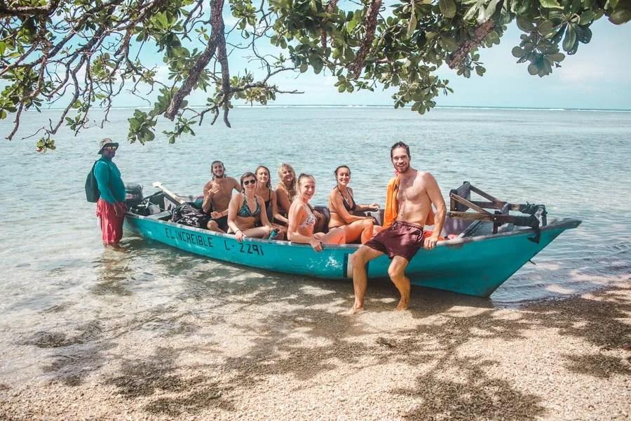 cahuita snorkeling boat tour: 2 weeks in costa rica
